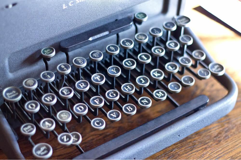 フォントタイプライター