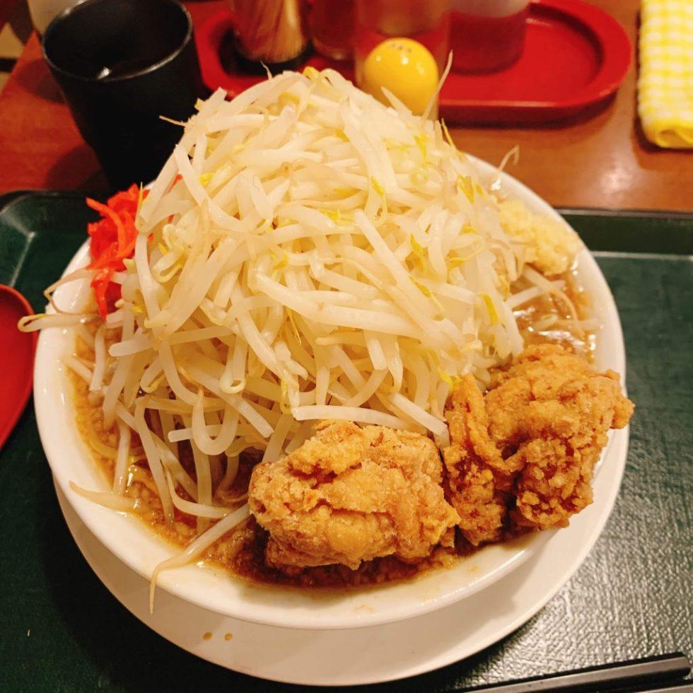 【二郎系】名古屋でヤサイマシマシ 二郎系ラーメン「ジャンキーモンキーJr.」