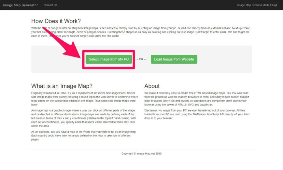image map generator